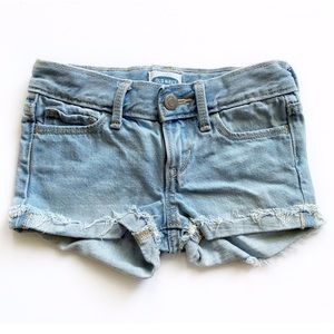 Old Navy Light Denim Shortie Shorts Size 5